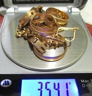 Золотые часы лом сдать как часы romanson продать